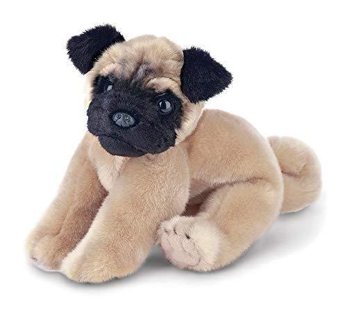 Bearington Pugsly Pug Plush Stuffed Animal Puppy Dog 13 Inches In