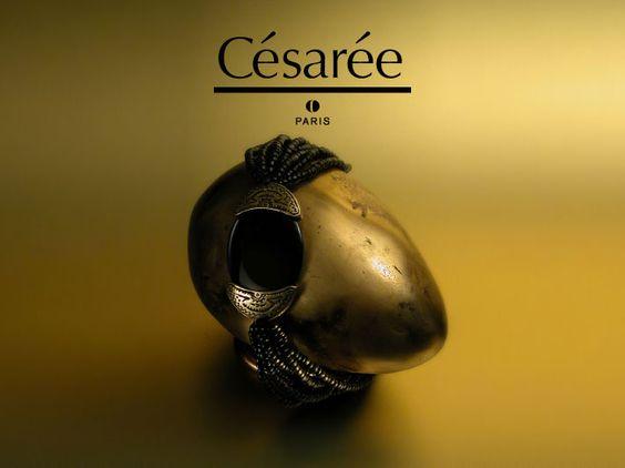 Quand l'ethnique flirte avec le luxe. Césarée créateur de bijoux couture. www.cesareebijoux.com