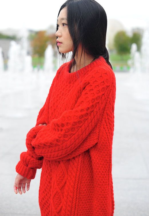 17 Best images about Aran Sweater on Pinterest | Cable, Red jumper ...