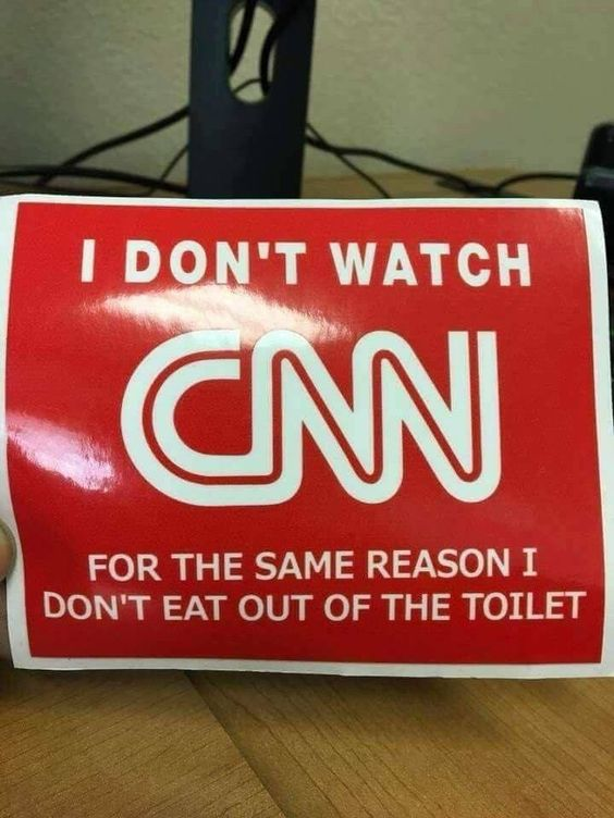 """Constipated """"News"""" Network, CNN... lowering the bar every day!"""