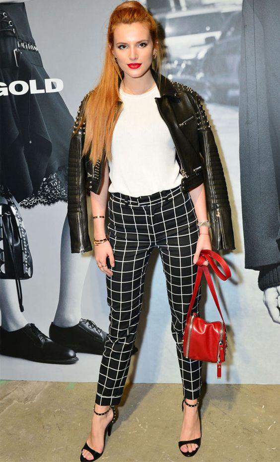 Bella Thorne e outras mostram que estilo não tem nada a ver com idade.