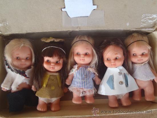Muñequitas tin tan de Famosa