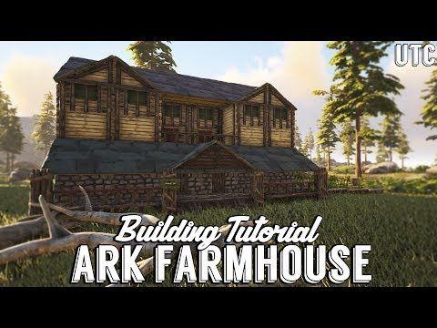 Ragnarok Farmhouse Ark Building Tutorial No Mods How To Build A Large Wooden Ark Survival Evolved Bases Ark Survival Evolved Tips Ark Survival Evolved