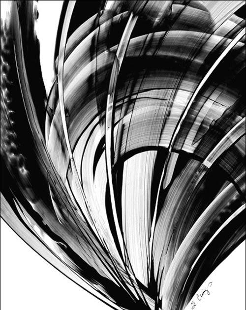 11 Lukisan Abstrak Hitam Putih Sederhana Terbaru 23 Abstrak Hitamputih Download Lukisan Povestiri Wattpa Black And White Painting Black And White Abstract