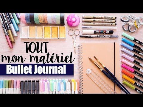 Tout Mon Materiel Bullet Journal Swatches Calligraphie Stylos