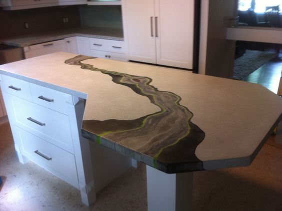 Concrete Countertops From Square Prairie Pinterest Countertop And