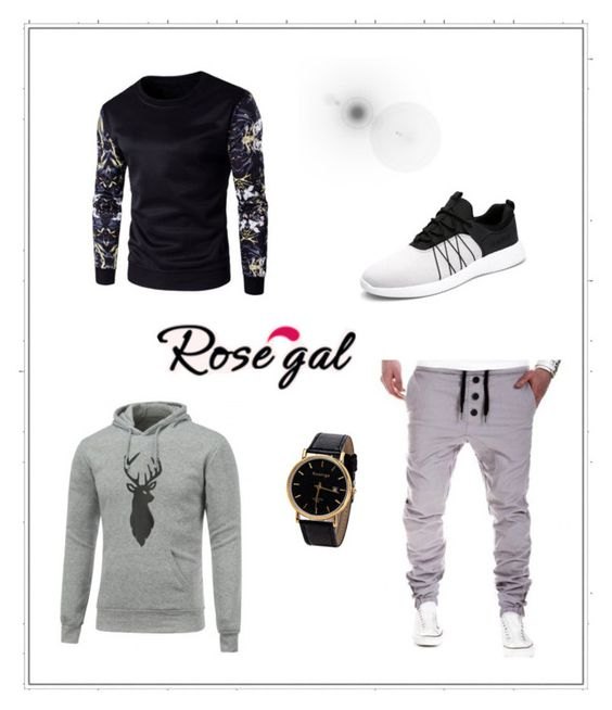 """""""Rosegal - 88/1"""" by thesnow977 ❤ liked on Polyvore featuring men's fashion and menswear"""