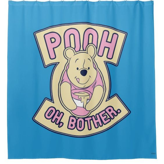 Create Your Own Shower Curtain Zazzle Com Winnie The Pooh Honey Winnie The Pooh Funny Posters
