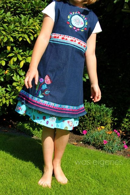 gorgeous dress for my little miss! design by S. Gimmel, sewed by @Andrea Mueller Jolijou