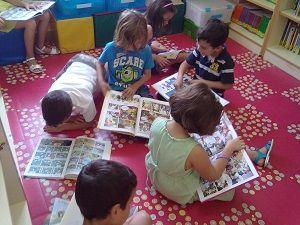 Biblioteca Escolar Domingo Lozano | CEIP Domingo Lozano (Málaga) distinguido con Sello Buenas Prácticas Iberoamericanas Leer.es Febrero 2015