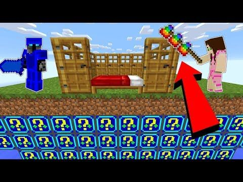 Minecraft Crazy Defense Night Lucky Block Bedwars Modded Mini Game Youtube Mini Games Minecraft How To Play Minecraft