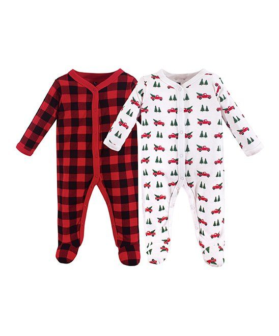 Christmas Penguin Unisex Long Sleeve Baby Gown Baby Bodysuit Unionsuit Footed Pajamas Romper Jumpsuit