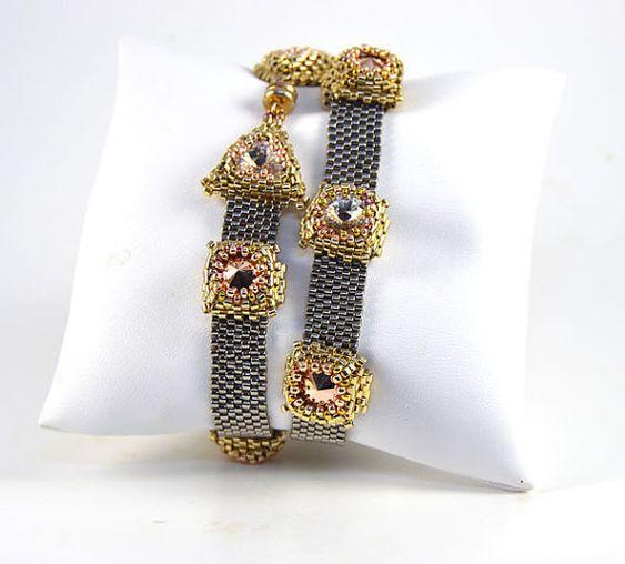 Sphynx Wrap Bracelet Kit by LiisaTurunenDesigns on Etsy
