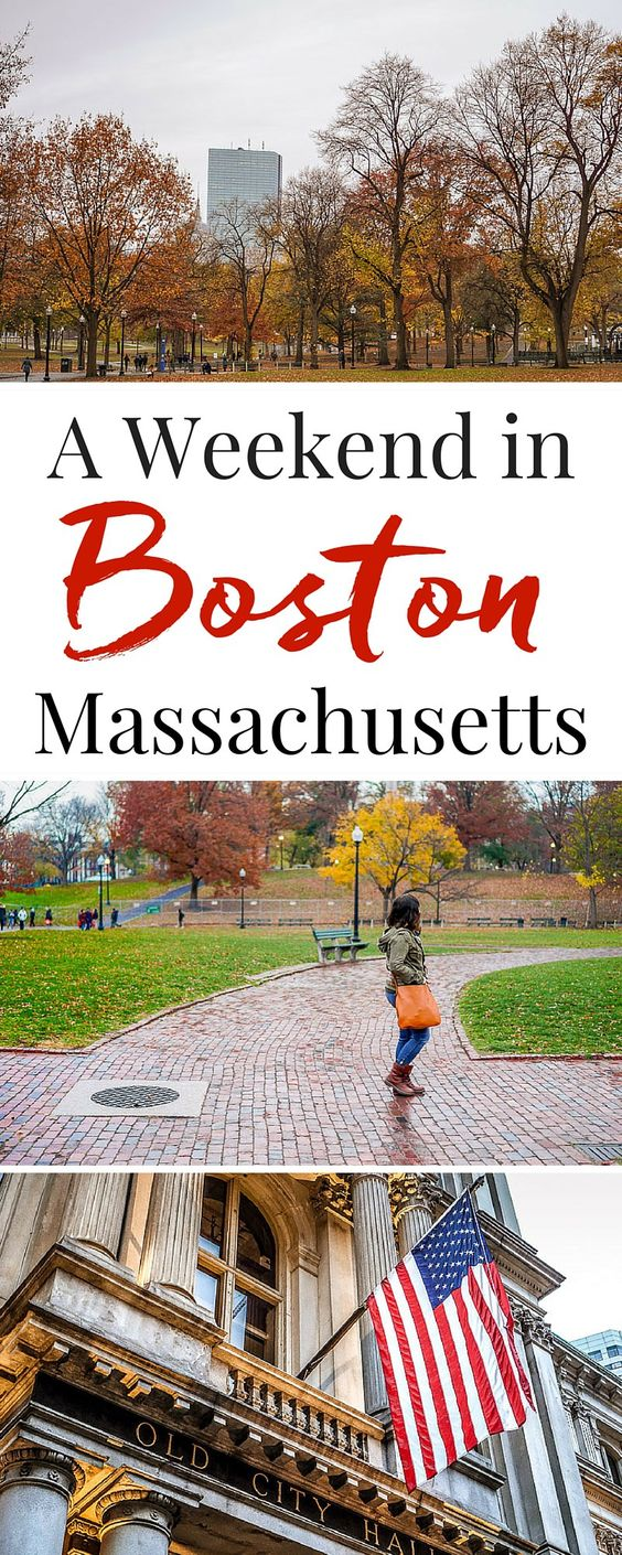 Take a little Weekend Getaway to Boston with the Amtrak Downeaster! What to see and do in just a couple days in one of the best cities in the country!