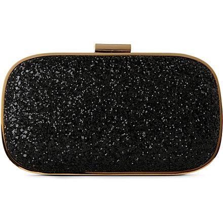 ANYA HINDMARCH - Marano glitter framed clutch | Selfridges.com