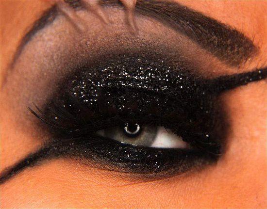 Nick fury inspired eye makeup!