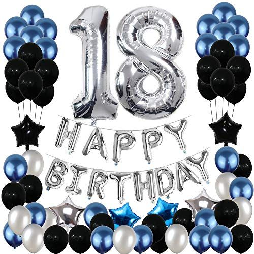 18th Birthday Decorations 18th Birthday Party Pack 18th Birthday Gifts Include Silver 18th Birthday Gifts 16th Birthday Decorations 18th Birthday Decorations