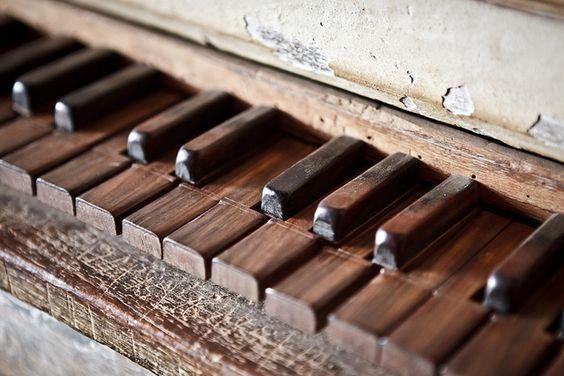 vintage. piano.