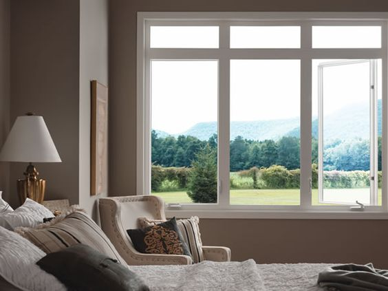 Captivating Best 25+ Bedroom Windows Ideas On Pinterest | Windows, Neutral Ceiling  Paint And Large Window Treatments