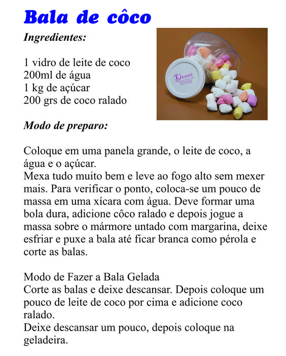 Bala de Coco