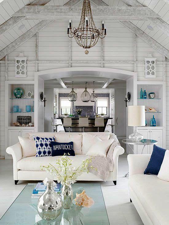 Spectacular Beach Cottage Style Houses Beach House Interior
