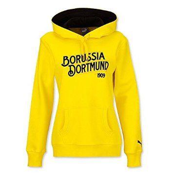 BVB 09 Borussia Dortmund Puma Damen Kapuzensweatshirt Gr. XL gelb Frauen Sweatshirt Shirt Pullover Hoody 15928602