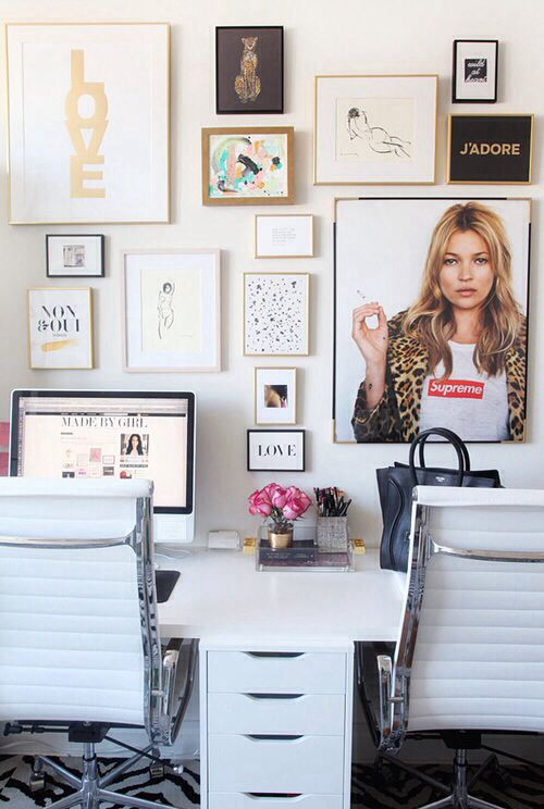 Creative space. Home office.