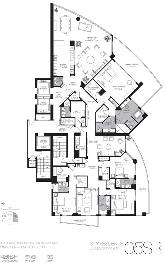 Home miami and real estate miami on pinterest for Miami house plans
