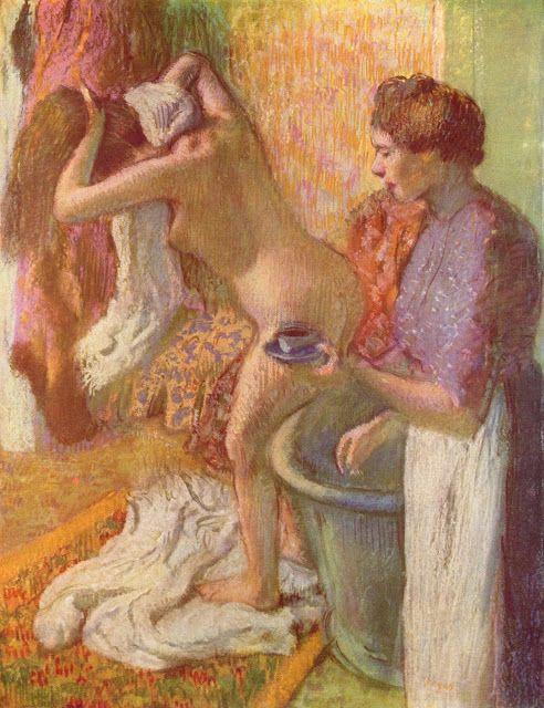 Nach dem Bade, 1883 - Edgar DEGAS