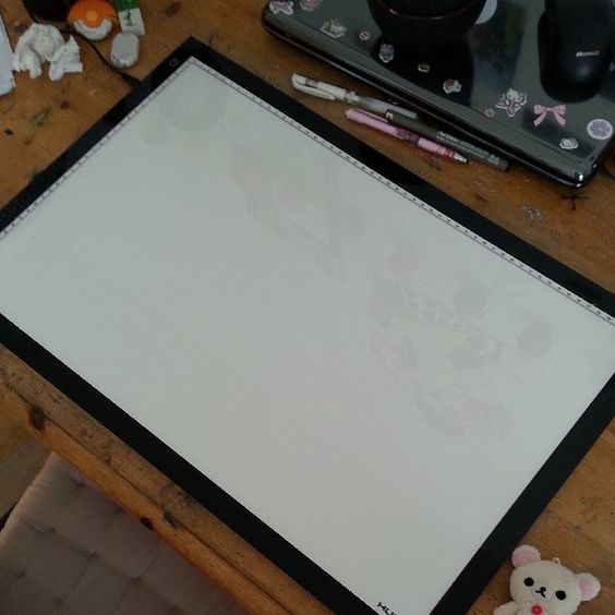 A3 light pad  http://www.amazon.com/Huion-Light-Tracer-Photography-ArtCraft/dp/B00IZQZXTE/ref=sr_1_12?m=A30BRCK3LE6SB5&s=merchant-items&ie=UTF8&qid=1406180643&sr=1-12   http://www.amazon.com/Huion-Tatoo-Tracing-Light-Table/dp/B00DNPCZVG/ref=sr_1_5?m=A30BRCK3LE6SB5&s=merchant-items&ie=UTF8&qid=1406180643&sr=1-5   Omg!!!! I've got this lightbox!!!! XD from my stepdad!! I'm soo happy!! #huion#art#new#artwork#cool#lightbox#light#illustration#workspace#yay#happy#lol#awesome#