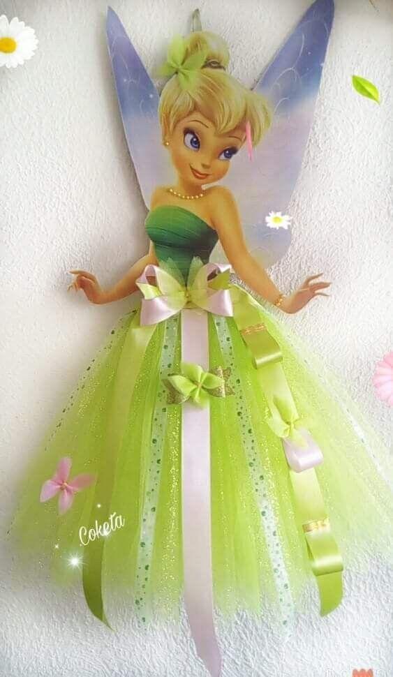 Disney Princess Hair Bow X2