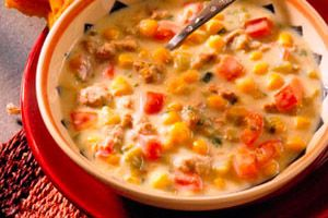 Tex-Mex Cream of Chicken Soup