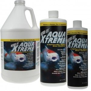 Product of the week:  Microbe-Lift Aqua Xtreme  Microbe-Lift® Aqua Xtreme is Nontoxic to Humans, Pets & Aquatic Life. A Full-Function, Buffered Water Conditioner
