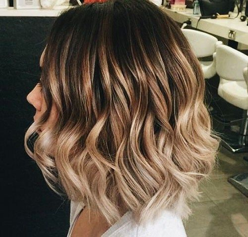 34 Blonde And Brown Short Hairstyles Beautiful Brown To Blonde Ombre Short Hair Short Ombre Hair Short Wavy Hair Blonde Ombre Short Hair