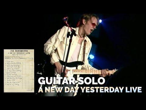 Youtube Guitar Solo New Day Joe Bonamassa