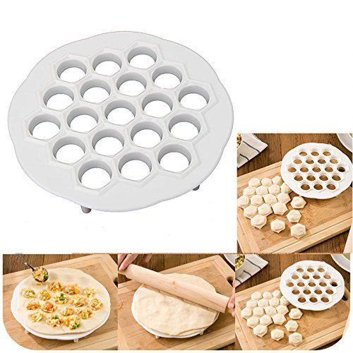 Dumpling Mold Maker Gadgets Tool Dough Press Ravioli Making Mould DIY Kitchen UK
