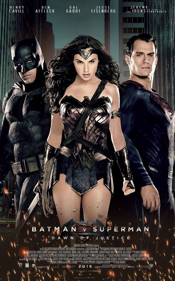 Batman v Superman Dawn of Justice Poster by Tom Gosling