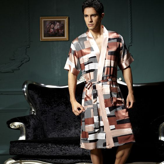 Silk Robes for Men-Buy Cheap Silk Robe | Men Silk Pajamas ...