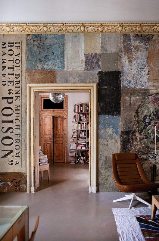 Poison Eva Germani In 2020 Eclectic Interior Design Wall Deco