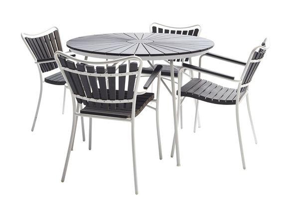 Cinas hard & ellen havemøbelsæt   lækkert sæt havemøbler med ...