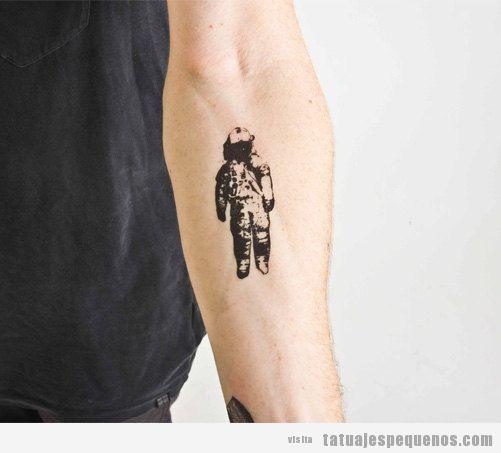 Pequeno Tatto De Hombre