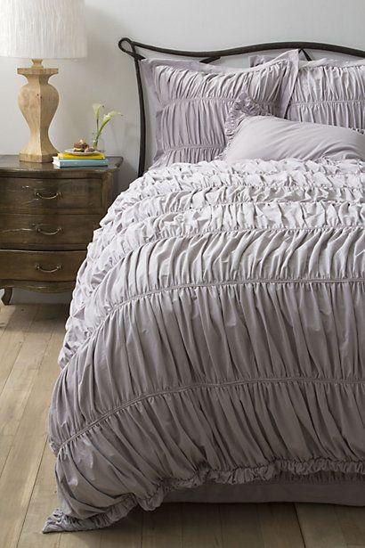 Nimbus Jersey Bedding, Grey #anthropologie