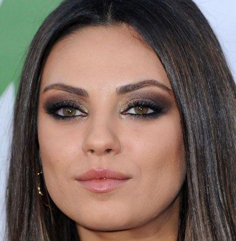 Confira a sugestão do Total Makeup de que produtos usar para criar este lindo make da atriz Mila Kunis!