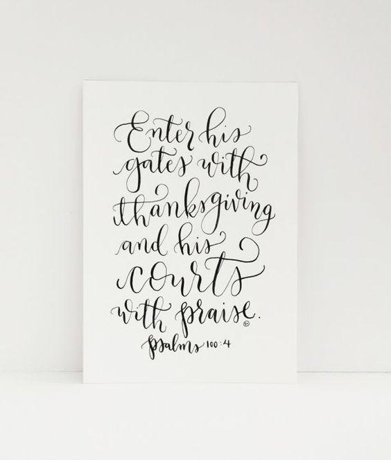 Calligraphy Bible Verses And Originals On Pinterest