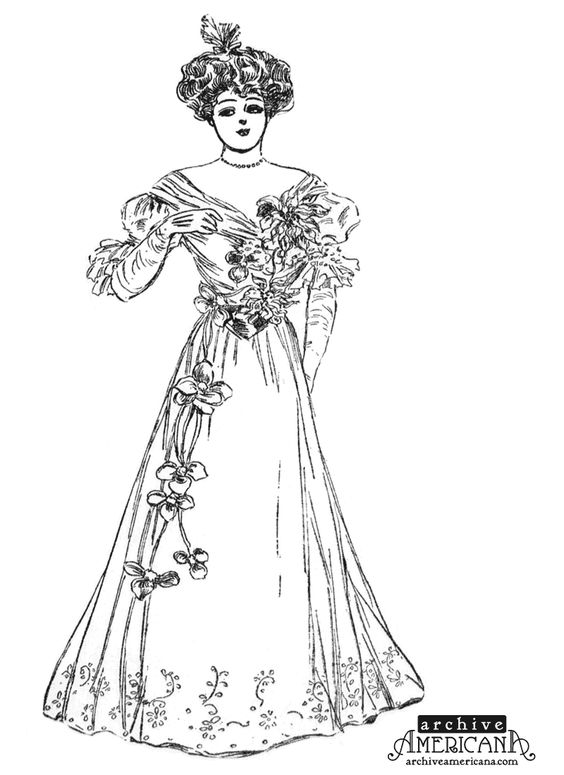 victorian homes coloring pages for adults ladies victorian dress victorian coloring pinterest teckningar och vintage - Victorian Coloring Pages
