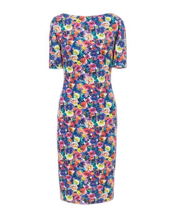 PRINTED DRESS - Dresses - Woman   ZARA United States