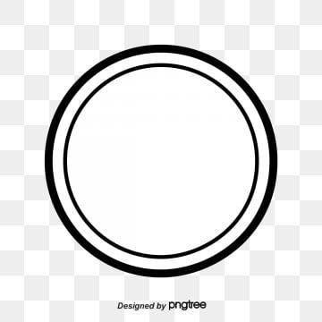 Black Circle Round Material Circle Pretty Circle Png Transparent Clipart Image And Psd File For Free Download Creative Circle Gold Circle Frames Frame Border Design