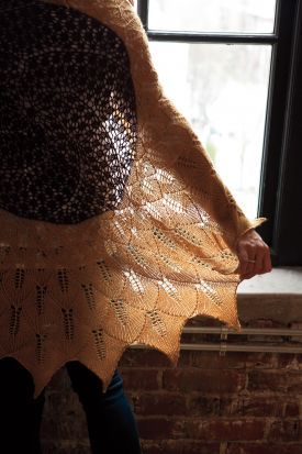 Tuscan Sunflower Shawl Kit - KnitPicks