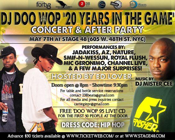 DJ Doo Wop's 20th Anniversary