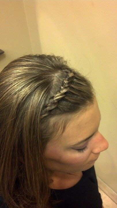 Braided headband... French Tying